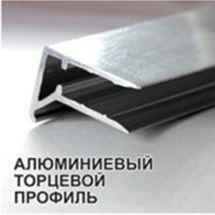 Изображение Торцевой Профиль РС AL-F (4мм,6мм,8мм,10мм).