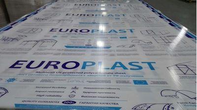 Picture of Поликарбонат сотовый  для Теплиц (4мм)  Доставка по РБ.