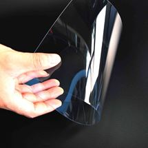 Изображение ПЭТ листовой прозрачный толщиной (0,5 мм)